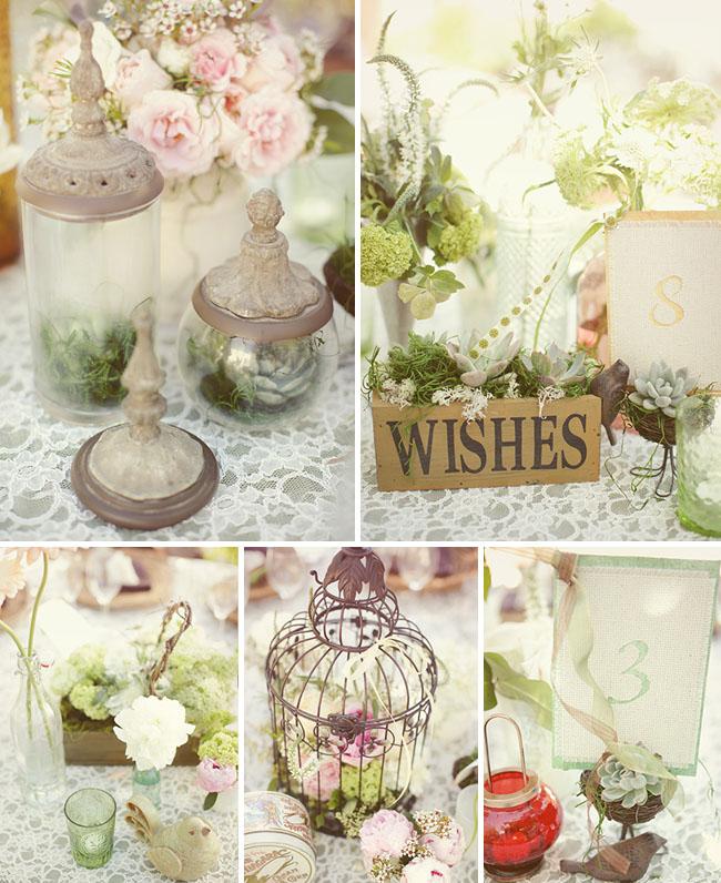 Garden Decor Reception: CRAZY ABOUT WEDDINGS: Shabby Chic Wedding Inspiration
