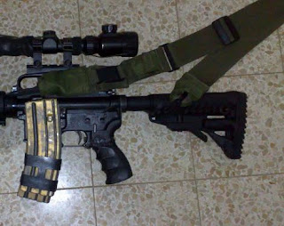My New IDF M4 Rifle Blogging from Israel on Guns, Security, Defense by DoubleTapper