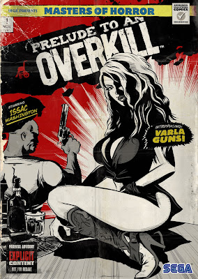 Wii House of Dead Overkill Graphic Novel