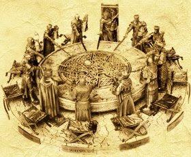 Ronde Tafel Koning Arthur.De Blauwe Uil Visievorming Aan De Ronde Tafel