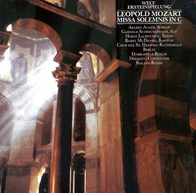Gems Of Choral Music: Leopold Mozart (1719-1787) - Missa Solemnis in