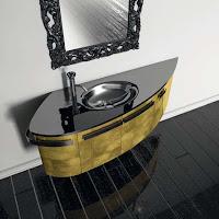 Notranja oprema - kopalniško pohištvo.