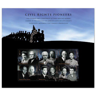 civil rights pioneers commemorative stamp