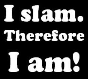 I Slam. Therefore I Am! logo