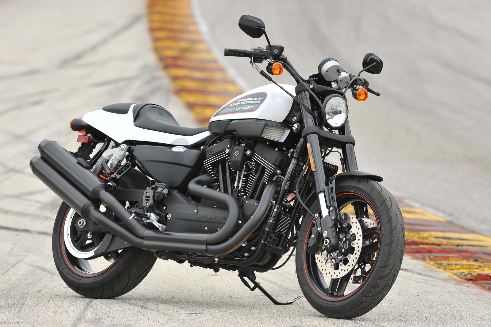 cycle guide magazine: ride review: harley-davidson xr1200x