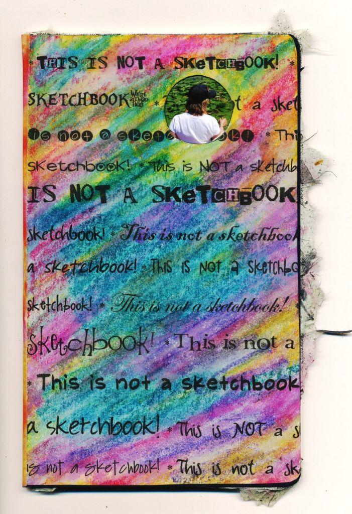 Creative Sketchbook Covers ~ Creative lenna sketchbook project