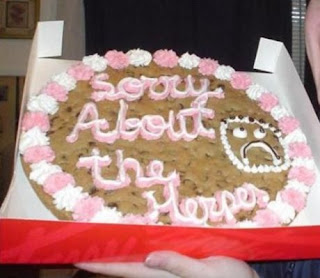 A Close Second To The Wal Mart Cake Cookie Says It All They Are Truly Sorry About Herpes