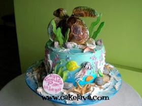 Cakelava Pam S Turtle Birthday Cake
