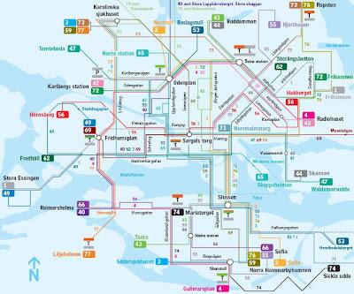 buss 3 karta Ulf Janssons Geoblogg: SL:s fina och fula kartor buss 3 karta