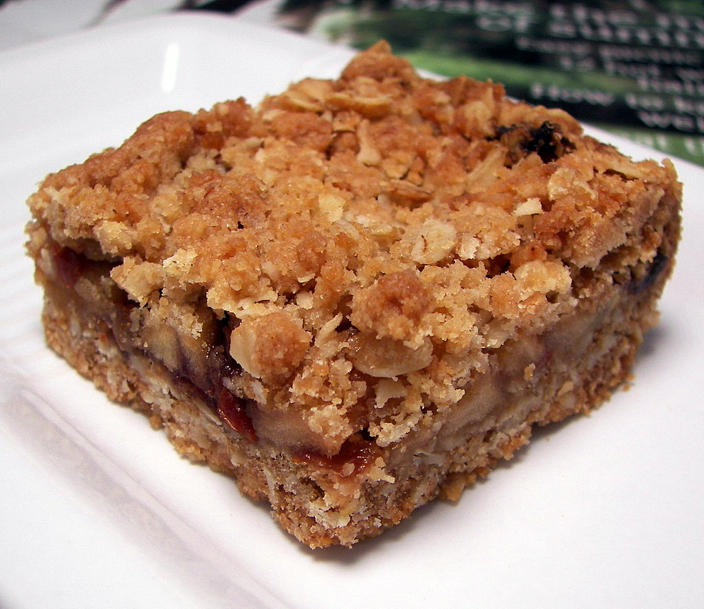 Easy Apple Bars With Cake Mix