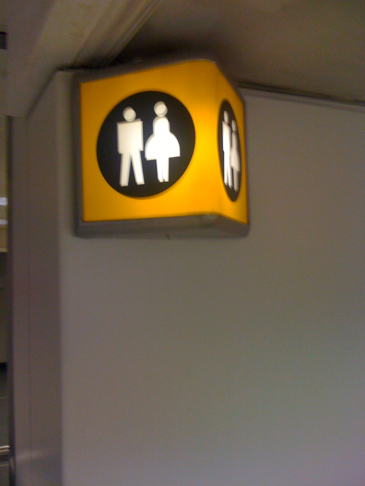 Europe 2010 Sexy Bathroom Sign-9971