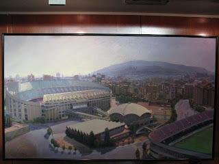Camp Nou, atual estádio do FC Barcelona