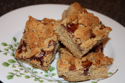 White Chocolate Peanut Butter and Jelly Bars