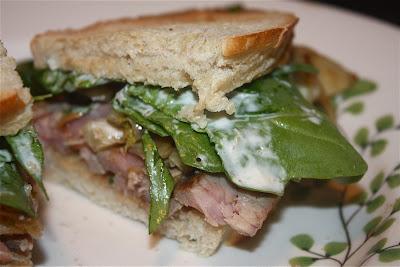 Steak and Fennel Sandwiches