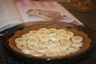 Frozen Peanut Butter-Banana Pie