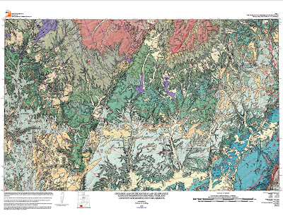 Map Of Arizona Utah Border.Arizona Geology New Geologic Map Of Arizona Utah Border Area