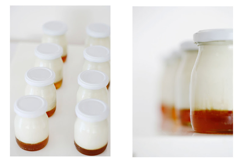 Fromage Blanc in bottles
