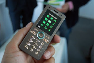 GreenHeart, the eco-friendly Sony Ericsson concept phone