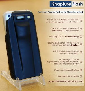 SnaptureFlash wants to add Xenon flash to the iPhone