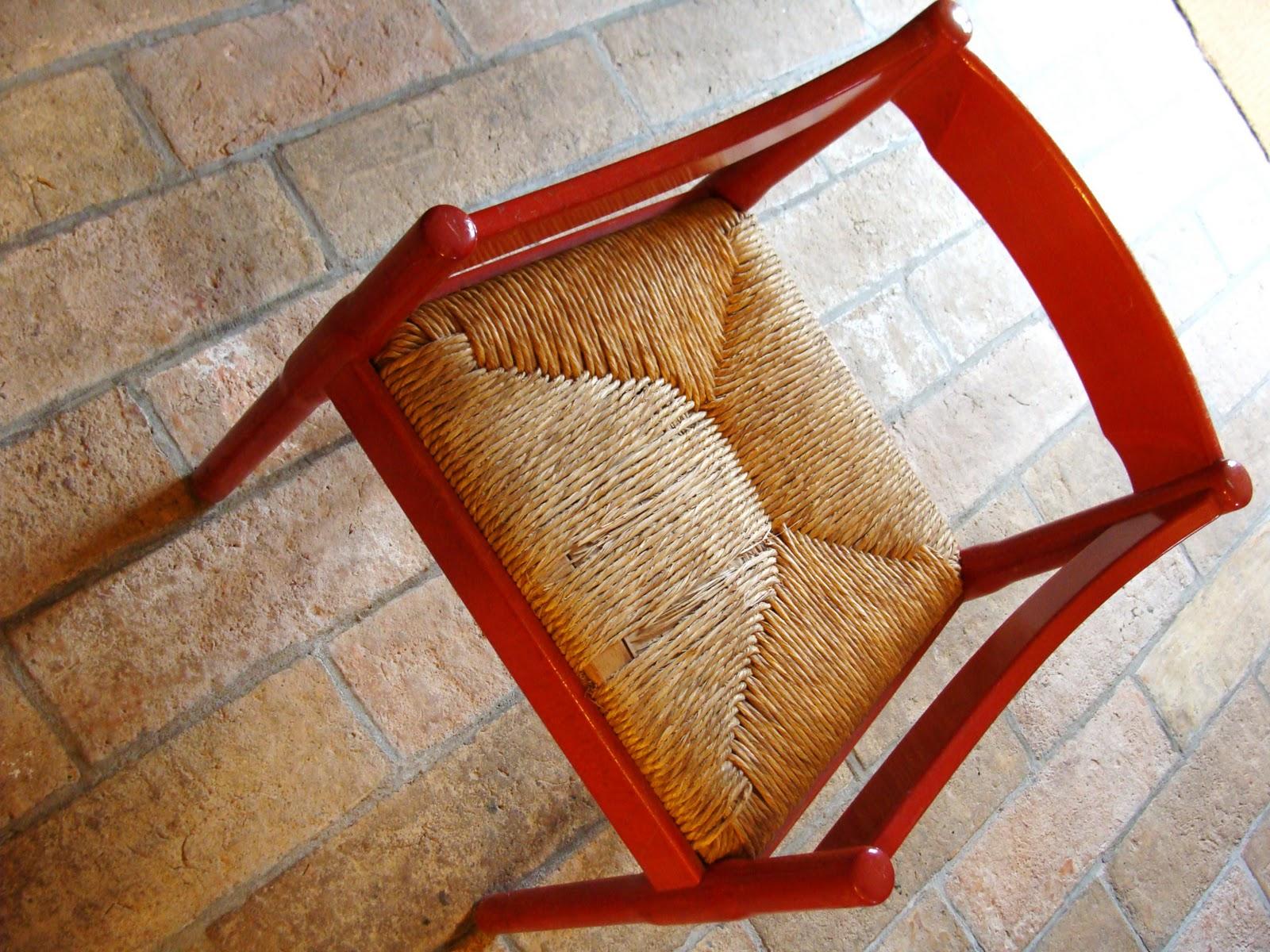 Autofocus sedia impagliata for Sedia design anni 70