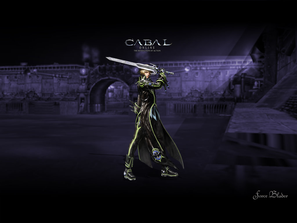 CABAL ONLINE FORCE BLADER WALLPAPERS
