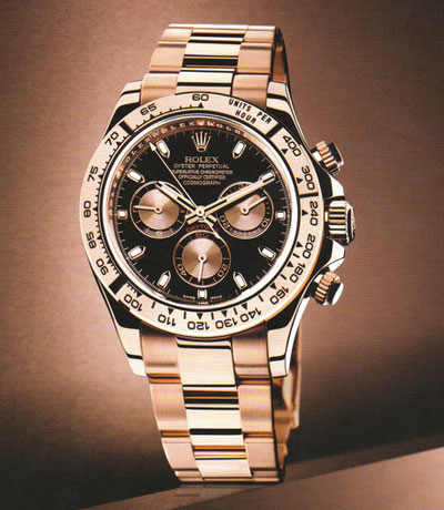 """30733568562 The World of Rolex  Review on The Rolex Cosmograph Daytona """"Everose ..."""