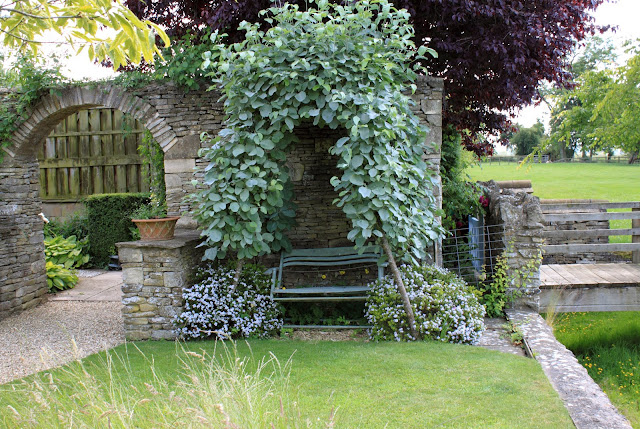 Wisteria And Cow Parsley The Stone House