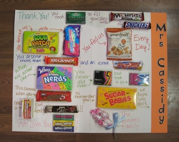 The Paper Pony Giant Candy Thank You Card