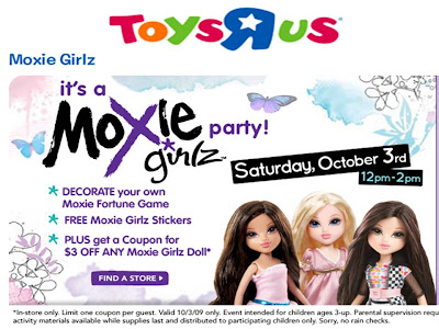 "Moxie Girlz Event at 玩具""R"" Us"