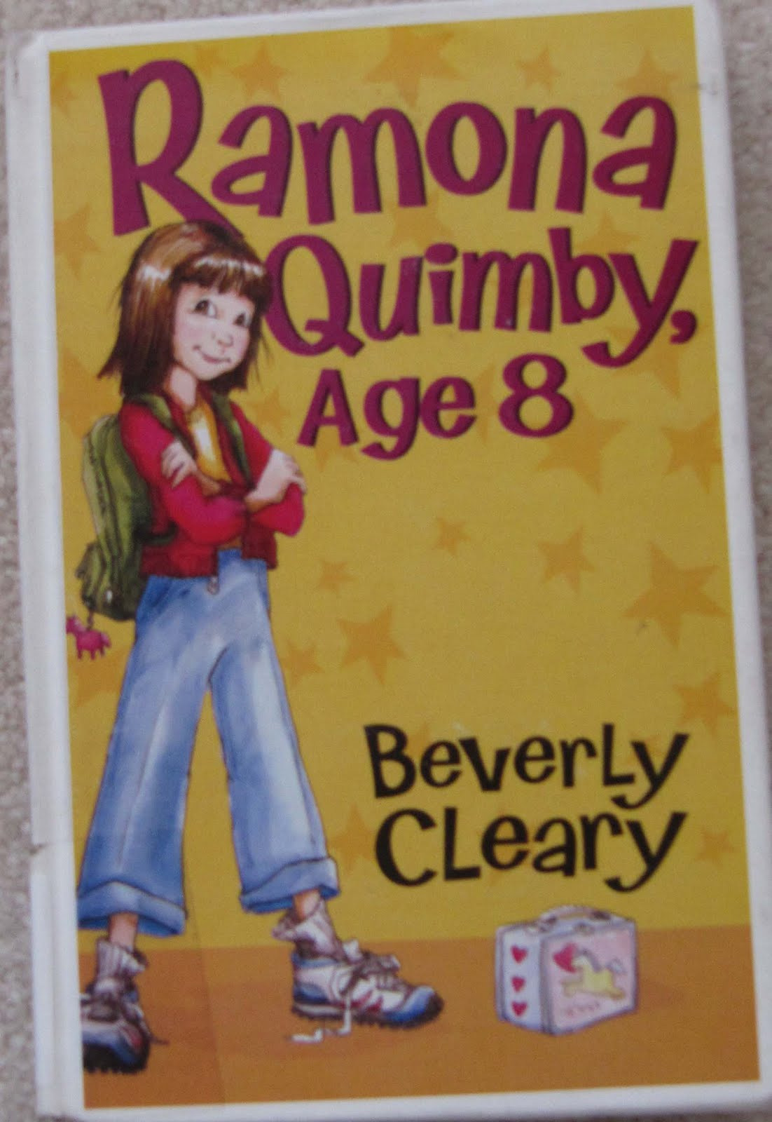 My Book A Day Ramona Quimby Age 8