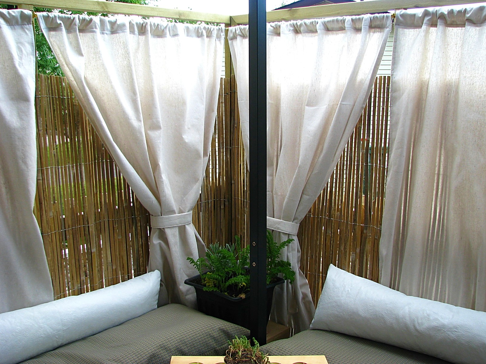 Diy Cabana Curtains Sewlutions 39 World My Cabana