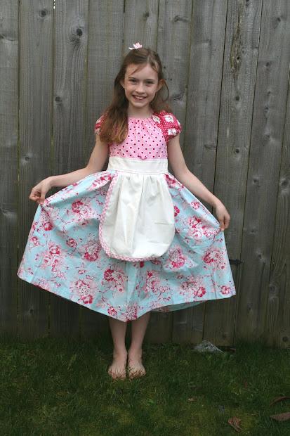 Lovely Little Handmades Easter Dresses