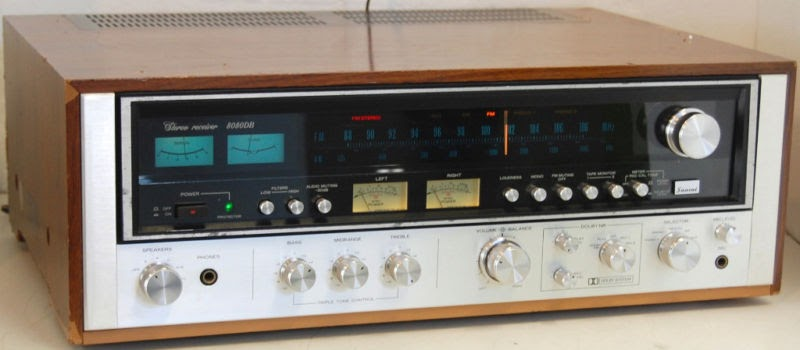 Rewind Audio Sansui 8080db Am Fm Stereo Radio Tuner