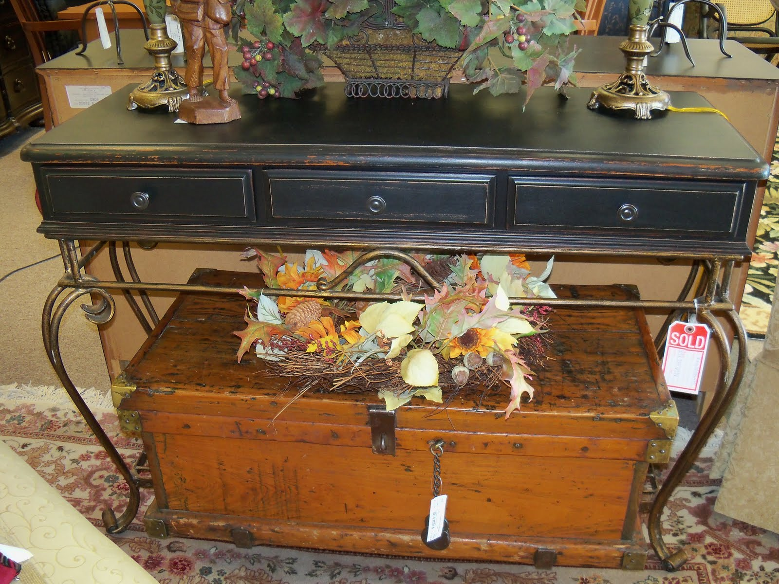 Jennifer's Furniture Painting Behind the Couch Tables Sideboards Consoles