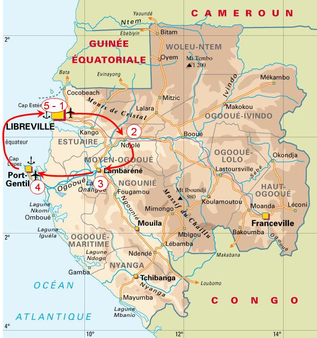 Destination Gabon !: Avril 2010