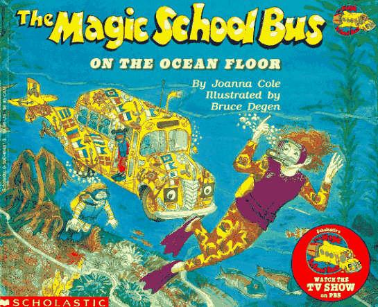 Read And Run The Magic School Bus On The Ocean Floor