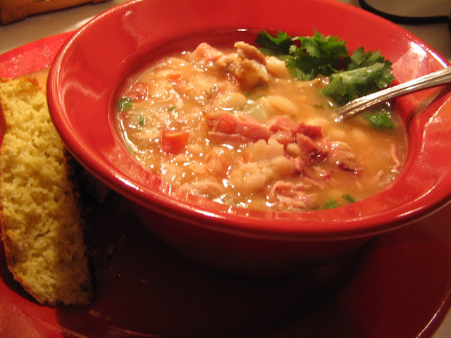 Whats For Dinner Next Week: Southwest White Bean Stew
