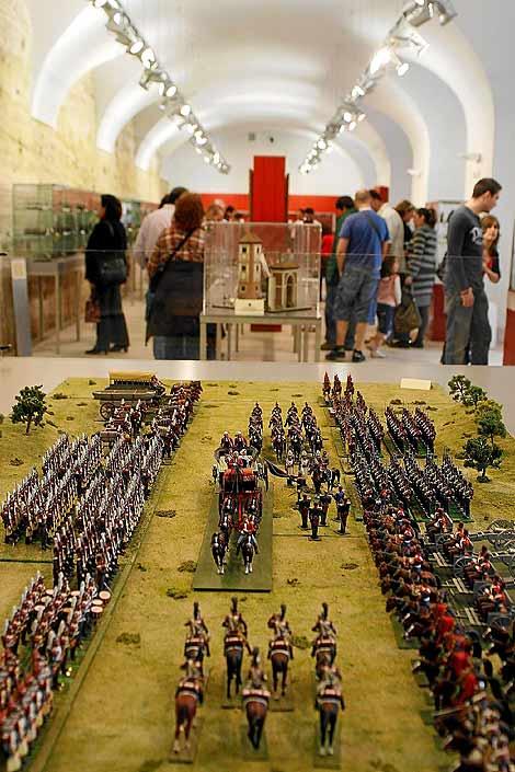 Exposición de soldados de plomo CBG-MIgnot