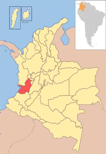 Valle del Cauca (1910): departamento de Colombia