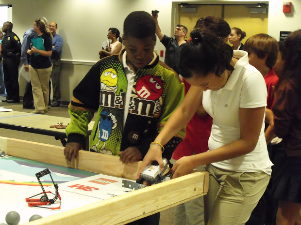 Robots Elementary Students Develop Passion