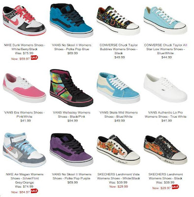 cfa39873653c Get great deals on women s brand name sneakers such as Nike