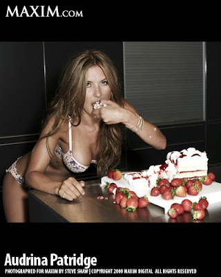 Audrina Patridge on Maxim Magazine pic