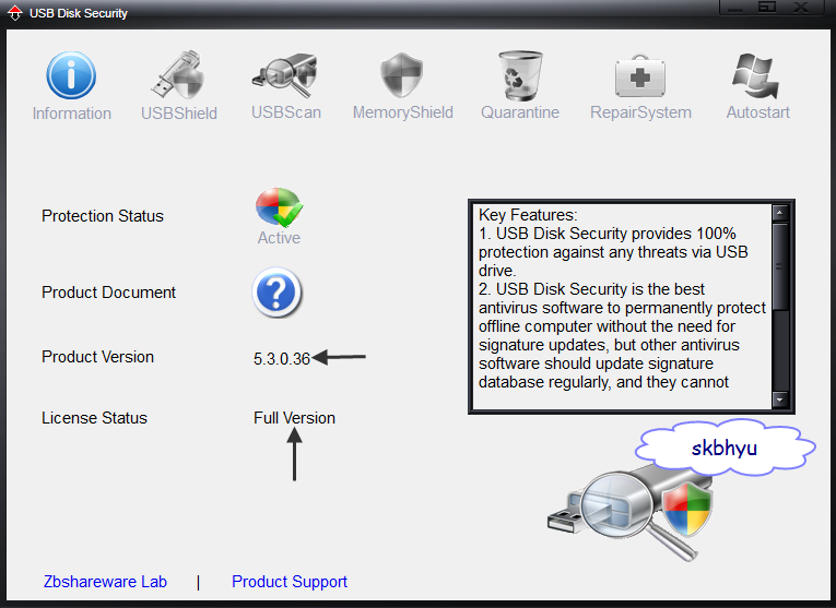 free download usb security full version with key