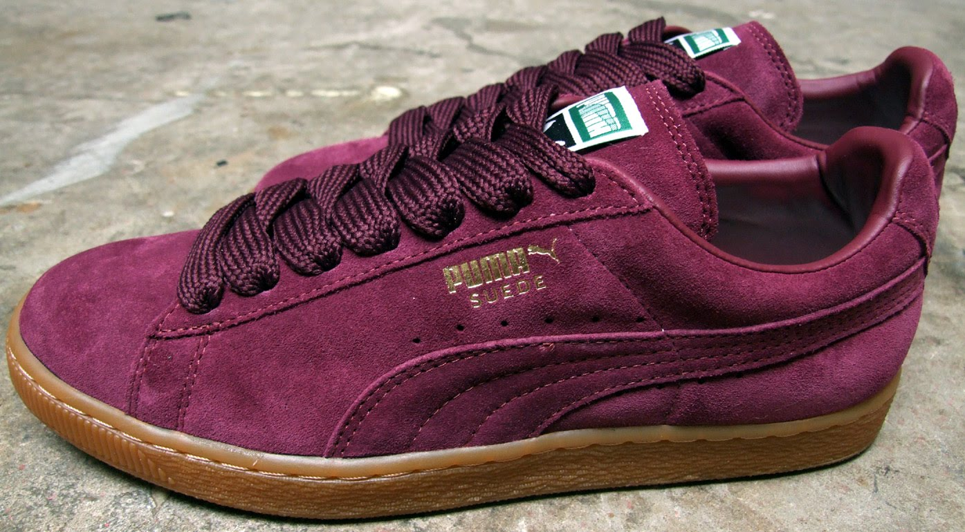 the best attitude a3386 ef6be Ranshop: Puma Suede 350734 05 Burgundy Gum