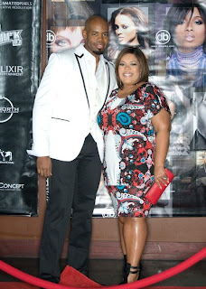 Derek Blanks & Wife