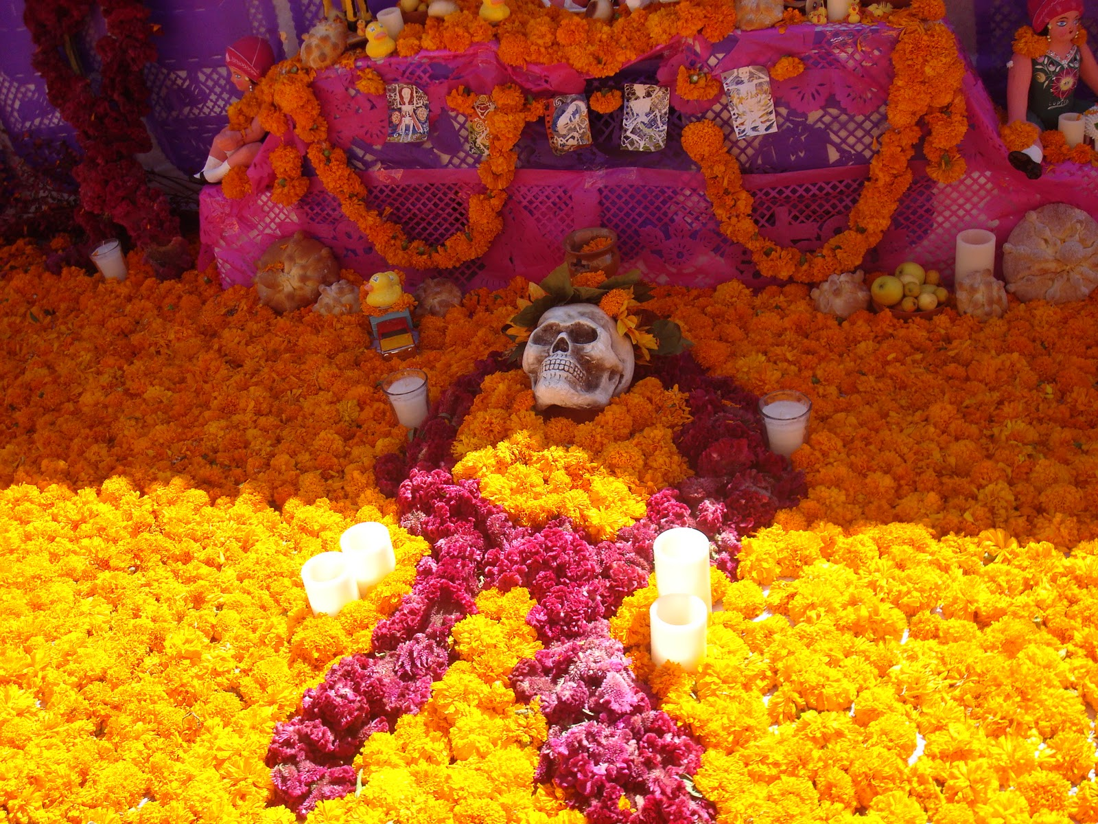 day of the dead marigolds