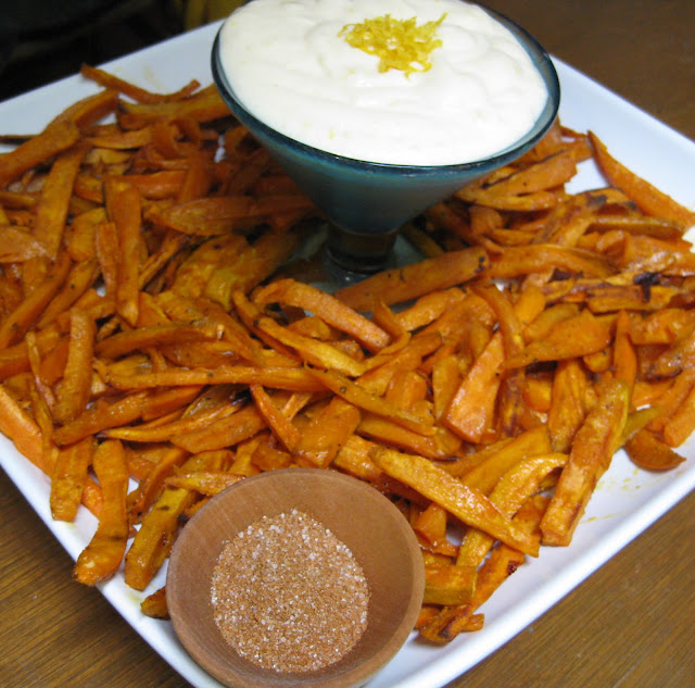 Flavors of the Sun: Baked Sweet Potato Fries with Lime ...