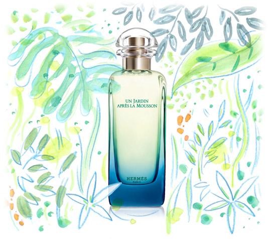 my perfume diaries hermes un jardin apr s la mousson. Black Bedroom Furniture Sets. Home Design Ideas