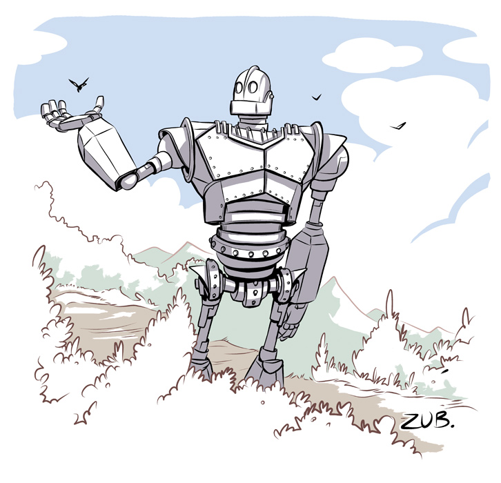 Free iron giant coloring pages for Iron giant coloring pages