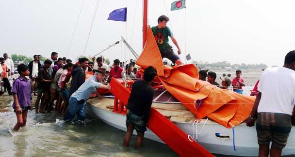 jute boat